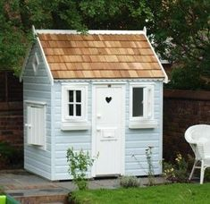 Would love to build a little cottage in the woods behind our house for the kids to play in