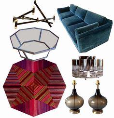 Missoni Home Rug Used 3 ways, Mid Century Vibe Living Room
