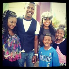 "Flex Alexander (actor) and Shanice Wilson ""I love your smile"" with their beautiful family #flexalexander & #shanicewilson and their beautiful kids +1"