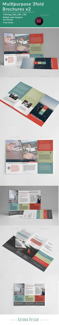 Business Profile Bifold Brochure  Brochures Brochure Template