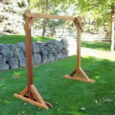 Porch Swing Plans With Stand PDF