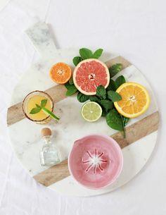 Colorful grapefruit cocktails // EAT & DRINK // Muse by Maike // http://musebymaike.blogspot.com.au  Instagram: @musebymaike  #MUSEBYMAIKE