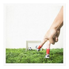 Customizable #Close#Up #Competition #Fun #Goal #Goal#Post #Grass #Hobbies #Human#Body#Part #Human#Finger #Human#Hand #Humor #Imitation #Kicking #One#Person #Part#Of #People #Photography #Scale #Scoring #Side#View #Small#Group#Of#Objects #Soccer #Soccer#Shoe #Sport #Square #Studio#Shot #Success #White#Background Kicking a soccer ball with finger imitating canvas print available WorldWide on http://bit.ly/2fu4nR3