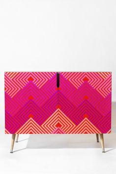 Holli Zollinger Techno Circuit Credenza   DENY Designs Home Accessories