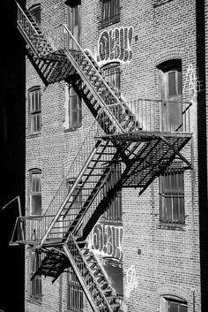 Fire escape - New York