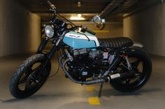 Honda CB 450 Street Tracker by ATJ Project