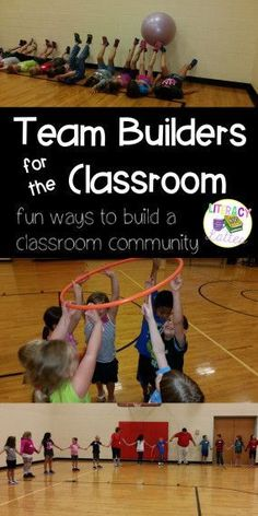 Team Builders for the Classroom {class builders for back to school}