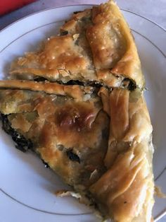 Greek Recipes, Vegan Recipes, Cooking Recipes, Greek Pita, Greek Pastries, Greek Cooking, Spanakopita, Mediterranean Recipes, Food Processor Recipes