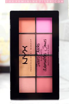 NYX Sweet Cheeks Palette Review