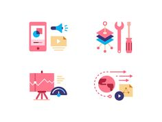 Qiniu SDK 2 designed by Marco Yu. Connect with them on Dribbble; Flat Design Icons, Icon Design, Flat Illustration, Illustrations, Grid System, Resume Design, Pictogram, Character Drawing, Vector Icons