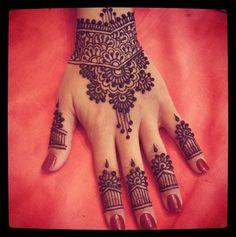 #mehendi #henna #hand #design #pretty