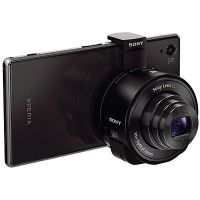 Sony DSC-QX10 Attachable 18MP 4.45-44.5mm Lens Camera for iPhone / Android for $149.99