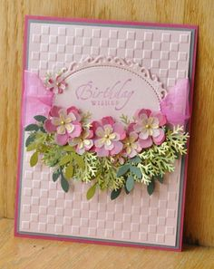 FS358 Swag of Flowers by Dockside - Cards and Paper Crafts at Splitcoaststampers
