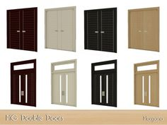Build Mode: MG Double Doors by Morgana14 from The Sims Resource • Sims 4 Downloads http://amzn.to/2t2yJ3S