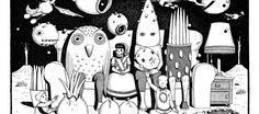 Pedro Mancini / Argentina, ilustración, blanco y negro, tramas
