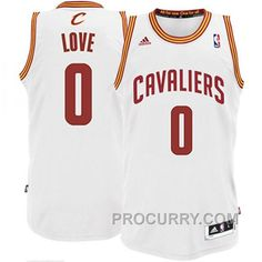 b699dc801 Kevin Love Cleveland Cavaliers  0 Revolution 30 Swingman White Jersey