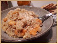 Risotto de Quinoa au Cidre et à la Patate Douce
