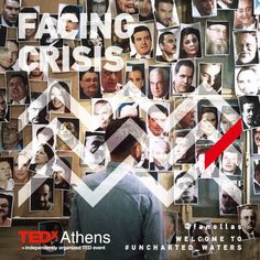 Uncharted Waters//TEDx Athens 2013 Campaign on Behance
