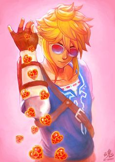You have been blessed by heart container swag Link. Like to be blessed with the ability to find heart containers quickly in Breath of the Wild