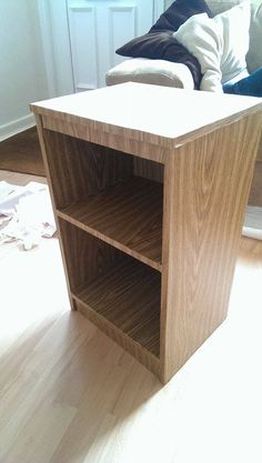 DC-Fix fablon looks good as new :-) A great example of using vinyl to create a… Upcycled Furniture, Furniture Making, Sticky Vinyl, Dc Fix, Used Vinyl, Cricut Vinyl, Inspire Others, Upholstered Chairs, Decorating Ideas