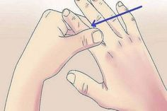 """What Is Acupressure Rub your thumb and pull it upwards Thumb is connected to heart and lungs. When rapid heartbeat, or when you will stay breathless, what you need to do is to massage your thumb and to pull it up. """"Index finger massaging"""" against. Index Finger, Calendula Benefits, Heart And Lungs, What Happened To You, Health And Beauty, Health Tips, Health Benefits, Detox, The Cure"""