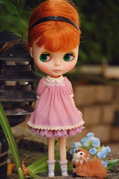 Blythe  dress set by blythewithyouandme on Etsy