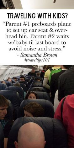 great advice for traveling with a baby! #travel #traveltips101