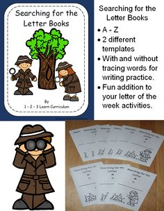 I have added Finding the Letter books to 1 - 2 - 3 Learn Curriculum. Click on picture to learn how to become a member for only $30.00 a year. :) 1 - 2 - 3 Learn Curriculum was developed by a child care provider of 29 years. Thank you! Jean Treasures of the Heart Preschool