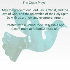 "Found this with ""Prayers & Blessings Daily"" for Android, iPhone and Kindle Fire! http://www.roboticode.co.uk"