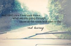 Mat Kearney: On and On lyrics.Favorite song ever