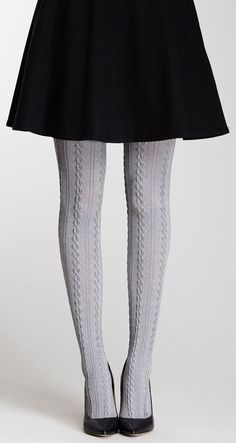 e42aedee28d Cable Knit Tight and Skater Skirt
