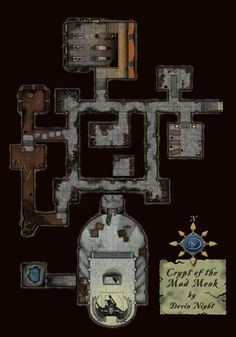 The Crypt of the Mad Monk