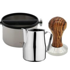 Everything you'll need to start making delicious lattes, cappuccinos, americanos - whatever you'd like! Included Items Motta Stainless Steel Knockbox Motta Sta.  #Kitchen #DIY #Morning #Life #Teapots  cliffandpebble.com