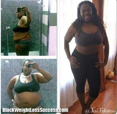 Tai lost 105 pounds | Black Weight Loss Success