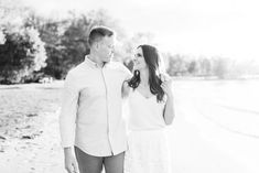 Lake Simcoe engagement session by Jenn Kavanagh Photography