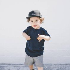 Snapback Cap For Baby Infant toddler or Kids that is totally adorable