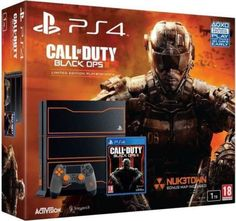 SONY PLAYSTATION 4 1TB CALL OF DUTY: BLACK OP3 LIMITED EDITION CONSOLE: $380.00 End Date: Wednesday May-9-2018 22:11:52 PDT Buy It Now for…