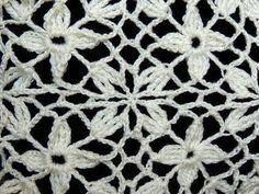 ▶ Crochet : Uniones Motivo Cuadrado de 4 petalos - YouTube