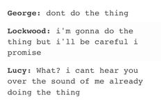 Lockwood and Co: a summary<omihosh this is probably the most accurate description of the book I've ever seen I Love Books, Good Books, Books To Read, Jonathan Stroud, Lockwood And Co, Nerd, My Heart Hurts, Lol So True, Book Fandoms