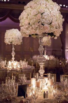 Wedding Centerpiece Inspiration - Photo: Captured Photography
