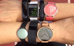 I Tested 7 Different Fitness Trackers—at the Same Time  \