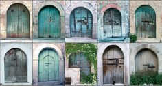 Old doors, Vico del Gargano, Gargano, Apulia region, Foggia province, Open South Project