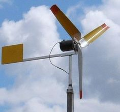 How to make a real wind powered generator effectively at home.