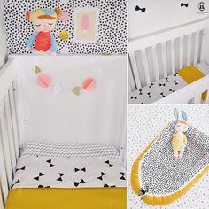 We ♡ oker! Of je nu een jongen of een meisje verwacht, geel is ontzettend leuk in de babykamer! #tante_tuttebel #handmade #zelfsamenstellen #custommade #baby #mommytobe #zwanger #babyroom #instababy #babyinsta #babykamer #babykamerstyling #babykamerinspiratie #babyinterior #nursery #oker #blackandwhite #monochromekids #interior #babybedding #babynest #babydeken Nursery Room, Baby Room, Gender Party, Baby Bedding, Baby Kids, Toddler Bed, Kids Rugs, Babies, Furniture