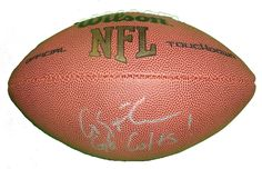 SOLD OUT! Indianapolis Colts Coby Fleener signed NFL Wilson full size football w/ proof photo.  Proof photo of Coby signing will be included with your purchase along with a COA issued from Southwestconnection-Memorabilia, guaranteeing the item to pass authentication services from PSA/DNA or JSA. Free USPS shipping. www.AutographedwithProof.com is your one stop for autographed collectibles from Indiana sports teams. Check back with us often, as we are always obtaining new items.