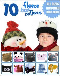 fleece hat patterns