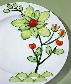 The W's: Food decoration art, Part 1
