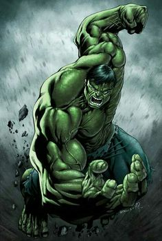 The Hulk is a fictional character in the Marvel Comics Universe who is known for his capability to expose significant feats of strength, wherein the magnitude i Marvel Comics, Hq Marvel, Arte Dc Comics, Marvel Heroes, Marvel Characters, Hulk Comic, Hulk Avengers, Comic Art, Hulk Hulk