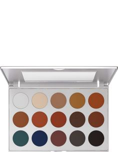 Eye Shadow Palette 15 Farben | Kryolan - Professional Make-up