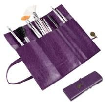 Purple Retro Roll Up Leather Makeup